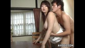 Japan Hdv – Asian Busty Bitch Gets Her Hairy Muff Filled Up Japan Sex Video