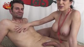 Spicy Lab – Italian Milf Brunette With Luna Dark And Alabor