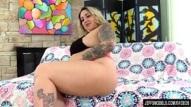 Jeff's Models – Busty Blond Bbw Kendra Lee Ryan Has Her Furry Pussy Plowed After Masturbating USA Vid