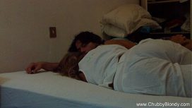 Chubby Blondy – Sleeping Italian Beauty Blowjob