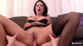 La Cochonne Romanian Babe Shalina Devine Enjoys Hard Anal With French Stud