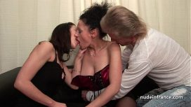 Nude In France – Candice Marchal – Ffm Amateur French Couple Teaching A Young Brunette Babe In Hard Fist Didlo Fuck