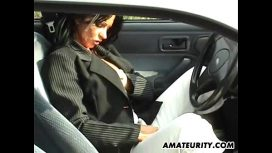 Amateurity – Candy Samira – Amateur Mom With Big Tits Sucks And Fucks In Her Car