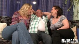 Bbvideo – Two Busty Slags Share A Hard Prick