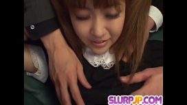 Ferame – Kokoro Wakaba Loves Jizz In Her Mouth After Rough Sex Japanese Sexy Movie