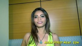 Asian Street Meat – Good Thai Girl Refuses Payment For Sex