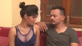 Hot Indian Milf Cleavage Show Boob Press Kissing Indian Hd Bhabhi Hindi Video