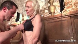 Nude In France – Sexy Amateur French Mature Deep Analized With Cum 2 Mouth In A Bar