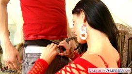 Naughty America – Big Assed India Summer Riding Cock