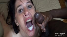 Nude In France – French Mom Analyzed Double Teamed W 2 Blacks In A Gangbang W Cum To Mouth