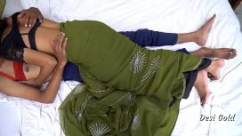 Desi Gold – Indian Bhabhi Invite Lover At Home For Hard Sex