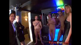 Pornovrai – Orgy In The Basement Of A House French Amateur France Video