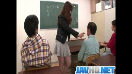 Jav HD – Insolent Teacher Is In For A Steamy Fuck At School JAV HD Video