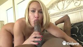 Onlycougars Com – Mellanie Monroe Slides A Bbc Down Her Throat US Video