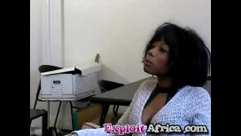 Milf Black Babe Hairy Pussy Fucked Hard By Younger Stud African Sex Video