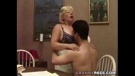 Real Granny Porn – Granny Teacher Flirts With Her Student