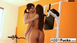 Abigail Mac – Workout Between Abigail And Dana Leads To Some Lesbian Fun Lesby Porn
