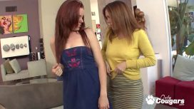Onlycougars Com – Young Lizzie Tucker And Her Stepmom Nancy Vee 69 To Orgasm Lesbo Sex