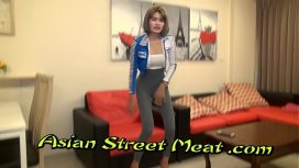 Asian Street Meat – Restrained Asian Bondage Slapper With Sperm Matted Pubes
