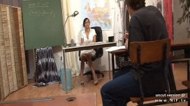Nude In France – Bettina Kox – Gorgeous French Teacher Sodomized And Facialized At School