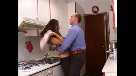 Don't Say A Word – Violent Husband Brutalizes His Pretty Wife In The Kitchen