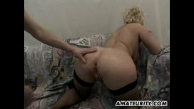 Amateurity – Busty Amateur Milf Hardcore Threesome With Facial