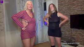 Rosella Extrem – Dirty Piss And Cum Threesome German Vid