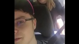 Snapchat Blowjob In Car With Friend Watching