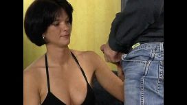 German Brunette Fuck With Photographer