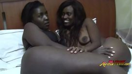 African Porn – Extremely Hot Ebony Lesbians With Huge Ass Love Oral Lesbo Sex