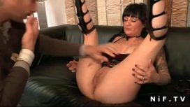 Nude In France – Big Titted French Milf Hard Double Teamed Francaise Video