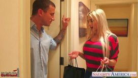 Naughty America – Blonde Gf Christie Stevens Gets Ass Nailed