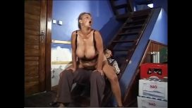 Milf And Granny Store – Hot Mature Woman With Big Boobs Gets Fucked By A Young Boy