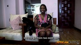African Porn – African Bubble Butt Gets Fucked Hard
