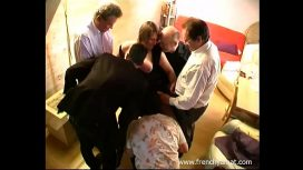Frenchy Amat – French Amateur Wife Gangbang