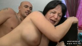 Nude In France – Amateur Busty French Milf Hard Anal N Deepthroat With Cum In Mouth For Casting