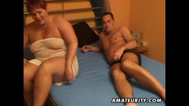 Amateurity – Chubby Amateur Wife Sucks And Fucks With Cum In Mouth