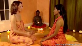 Touch The Body Hd – Feeling Her Friend'S Feelings Through Massage East Asia Video