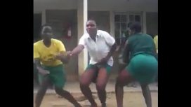 Kenyan School Girls Twerking America Vid