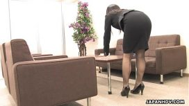 Japan Hdv – Asian Office Worker Rubs Her Wet Pussy Up Chinese Sex
