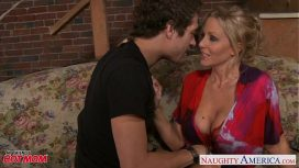 Naughty America – Beauty Mom Julia Ann Gets Big Tits Jizzed