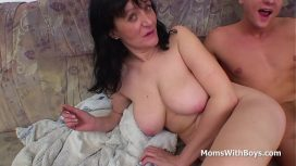 Moms With Boys – Busty Mother Fucking Son'S Cock Full Movie US Porn