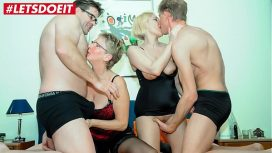 X Omas – Letsdoeit German Matures Share Their Hubbies Cocks Germany Video