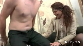 Nude In France – Amateur French Couple First Time Anal Casting Couch