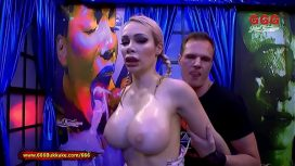 German Goo Girls – Chessie Kay Piss Covered Massive Tits 6bukkake