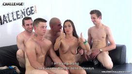 Four Guys Take Turns At Fucking Mea Melone'S Holes Germany Video
