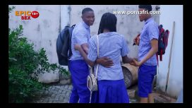 Epic Naija Sex – Outdoor Threesome With Horny Secondary School Girl Behind School Hostel Trailer Nigerian Movie