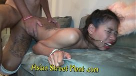 Asian Street Meat – Brown Bimbo Shares Pink Passage Philippine Video