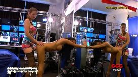 German Goo Girls – Casting Girl Anna Gets Tested By Viktoria'S Large Strap On