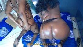 Afrosex – 2 South African Bbw Lesbian Oil Booty Massage And Big Ass Nigeria Video